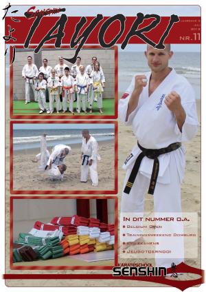Clubblad Karateschool Senshin Almere